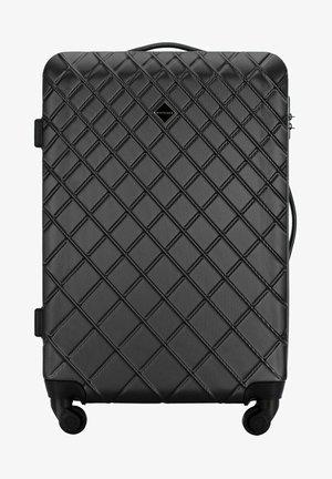 CLASSIC - Wheeled suitcase - schwarz