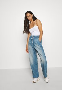 G-Star - LINTELL HIGH DAD  - Jeans Relaxed Fit - antic faded marine blue - 1