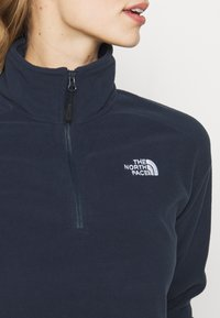 The North Face - GLACIER CROPPED ZIP - Fleecová mikina - urban navy - 4