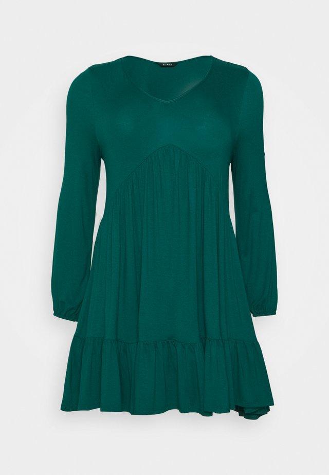 FRILL HEM DRESS - Vestido ligero - green
