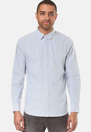 OXFORD STRETCH L/S - Shirt - blue