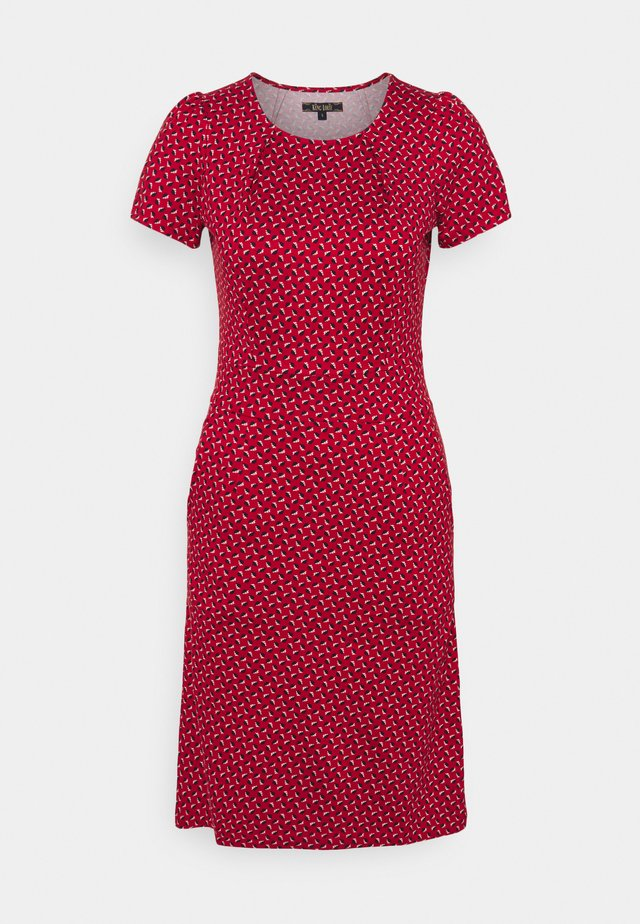 MONA DRESS RANCHO - Trikoomekko - chili red