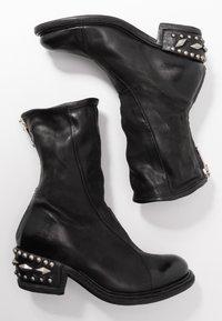 A.S.98 - Cowboy/biker ankle boot - nero - 3