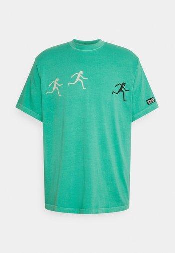 SUMMIT - Print T-shirt - atlantis