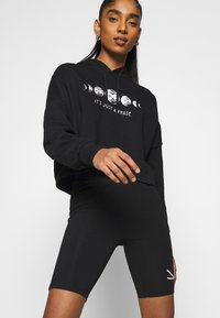 Even&Odd - Printed Oversized Sweatshirt - Sudadera - black - 3