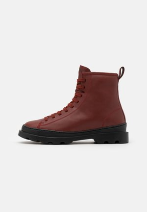 BRUTUS - Lace-up ankle boots - medium brown