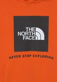 The North Face - BOX HOODIE UNISEX - Sweatshirt - red orange - 2