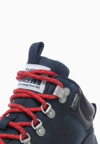 The North Face - W BACK-TO-BERKELEY MID WP - Hiking shoes - blue opal/hibiscus - 5