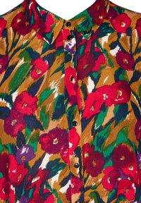 Zizzi - Button-down blouse - army - 5