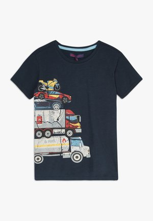 SMALL BOYS  - T-Shirt print - navy blazer