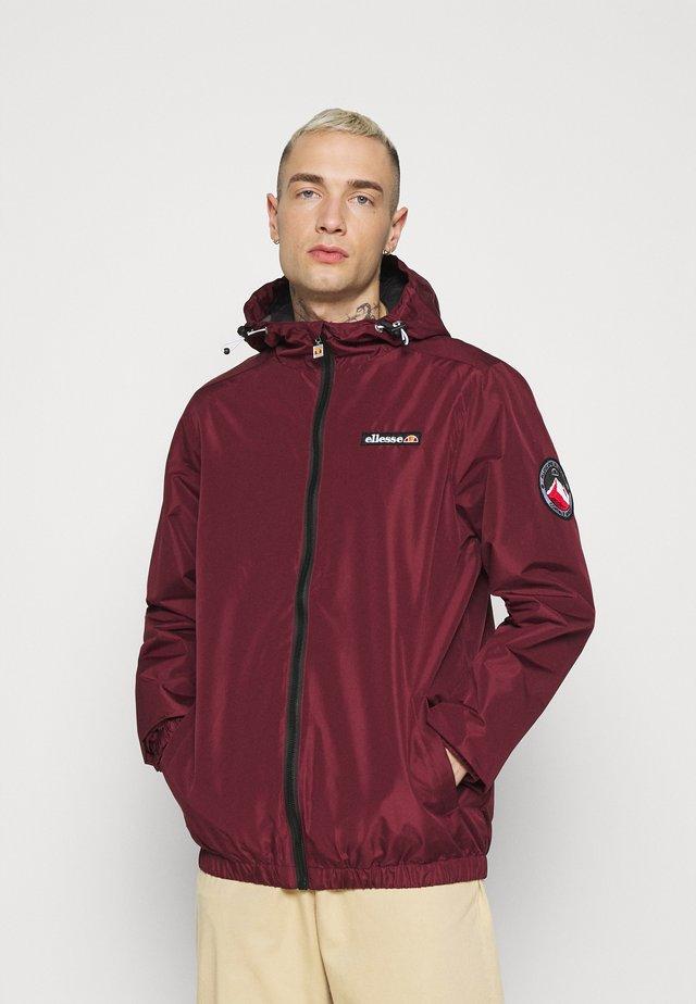 TERRAZZO - Summer jacket - burgundy