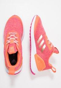 adidas Performance - RAPIDARUN X - Neutral running shoes - semi coral/copper metallic/real magenta - 0