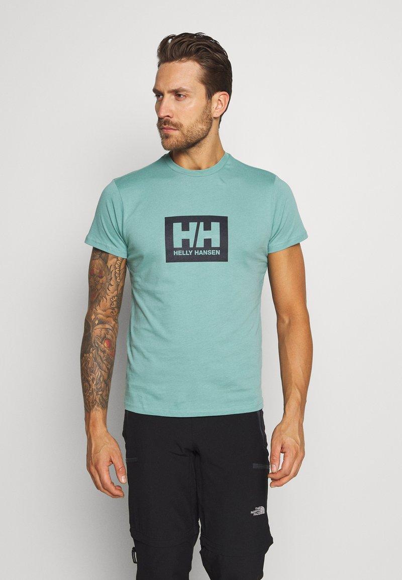 Helly Hansen - TOKYO - Print T-shirt - jade