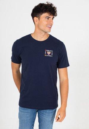 T-shirt print - obsidian