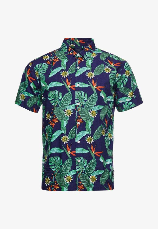 HAWAIIAN  - Overhemd - navy tropical aop