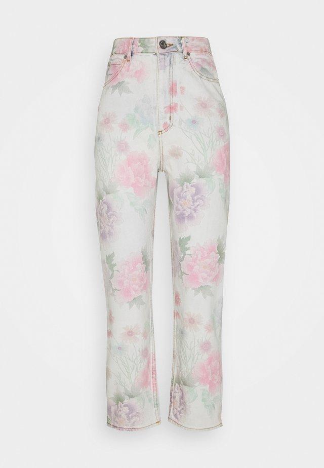 Jeans Straight Leg - multicolore
