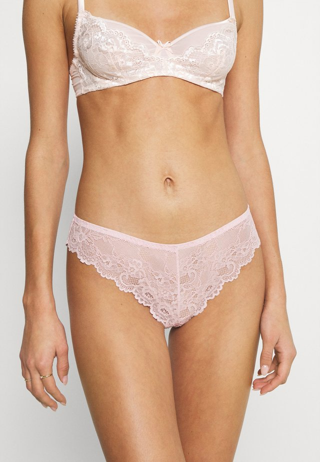 TEMPTING BRAZILIAN  - Stringit - old pink
