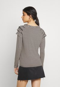 b.young - BYSUVA STRIPE  - Long sleeved top - black mix - 2