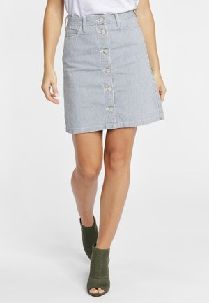 Denim skirt - grey