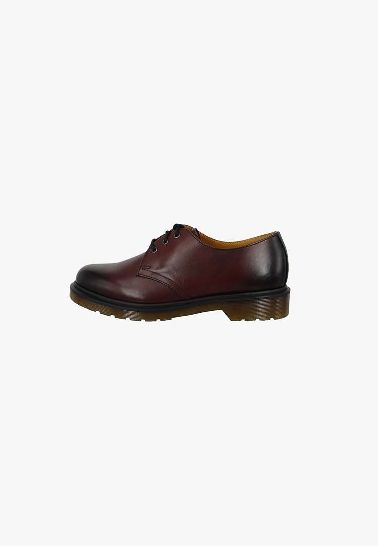 Dr. Martens - 1461 ANTIQUE TEMPERLEY - Nauhakengät - cherry red