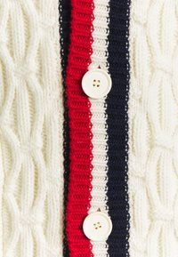 sandro - TWIST CARDIGAN - Cardigan - blanc - 2