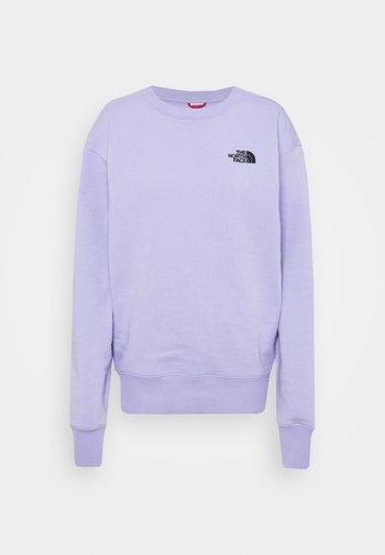 OVERSIZED ESSENTIAL CREW - Sweatshirt - sweet lavender