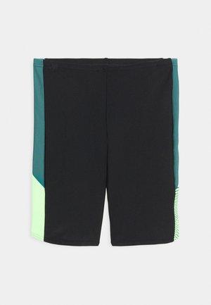 DIVE JAMMER - Plavky - black/swell green/zest green