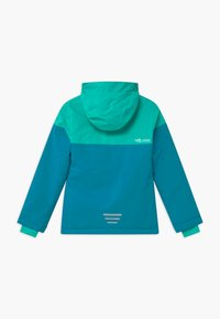 TrollKids - GIRLS HALLINGDAL - Snowboard jacket - light petrol/dark mint/white