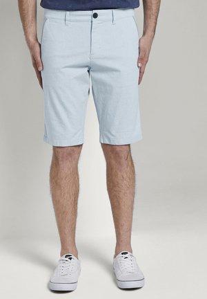Shorts - light blue summer structure