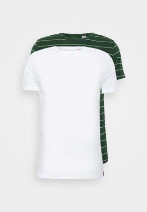 CREWNECK 2 PACK - T-shirt z nadrukiem - python green