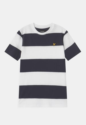 WIDE STRIPE - Camiseta estampada - bright white