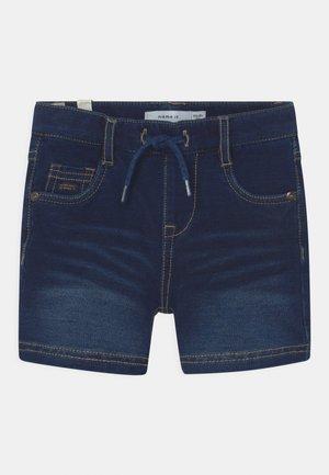 NMMRYAN - Shorts - dark blue denim