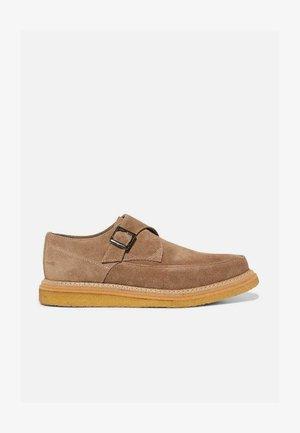 ROLLIN - Smart lace-ups - taupe