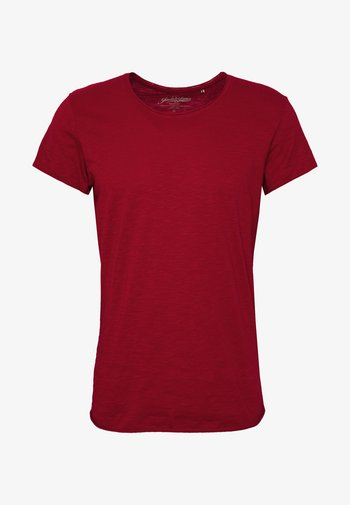 JJEBAS TEE - T-shirt basic - rio red
