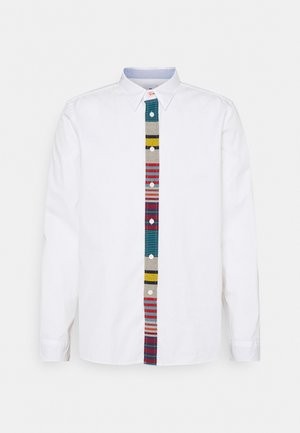 MENS REG FIT CONTRAST  - Skjorte - white