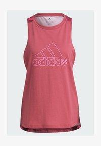 adidas Performance - T-shirt sportiva - pink - 5