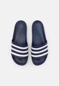 adidas Performance - ADILETTE AQUA UNISEX - Sandály do bazénu - dark blue/footwear white - 3