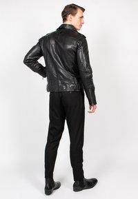 Freaky Nation - HOUSTON CITY - Leather jacket - black - 4