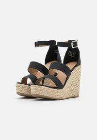 Rubi Shoes by Cotton On - BRADY WEDGE  - Platform sandals - black - 2
