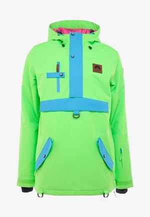 OVERHEAD JACKET - Ski jacket - green