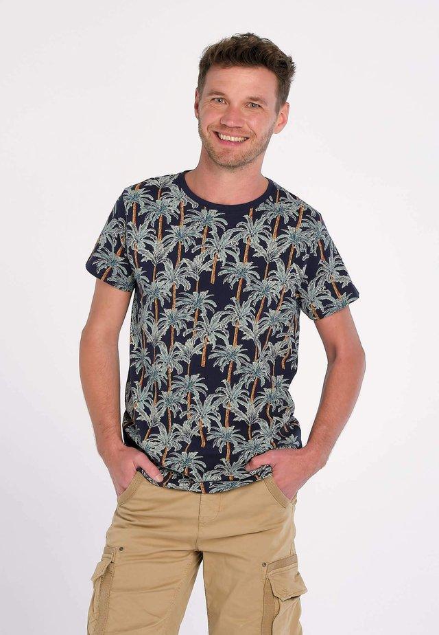RAIN FOREST COCONUT - T-shirt imprimé - blu