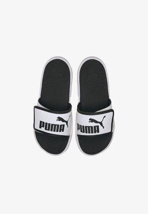 PUMA ROYALCAT COMFORT  SANDALS MALE - Mules - white/black