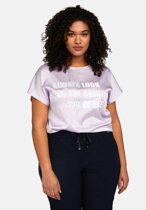 Camiseta estampada - viola