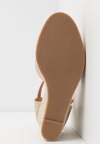 Tata Italia - Sandalen met hoge hak - gold - 6