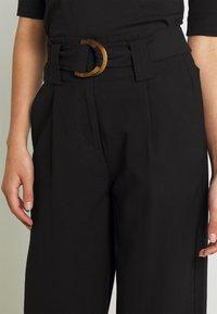 Vero Moda - VMORLA PANTS - Trousers - black - 3