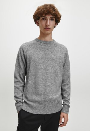 Jumper - mid grey heather