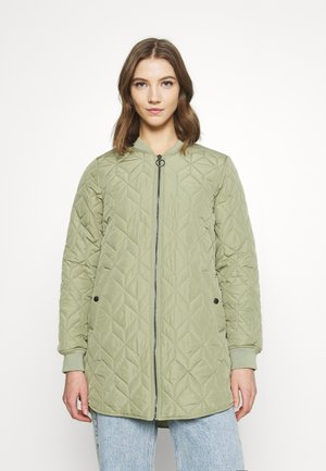 ONLALLISON QUILTED - Bomber Jacket - oil green