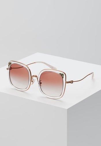 Sunglasses - shiny rose gold-coloured/pink
