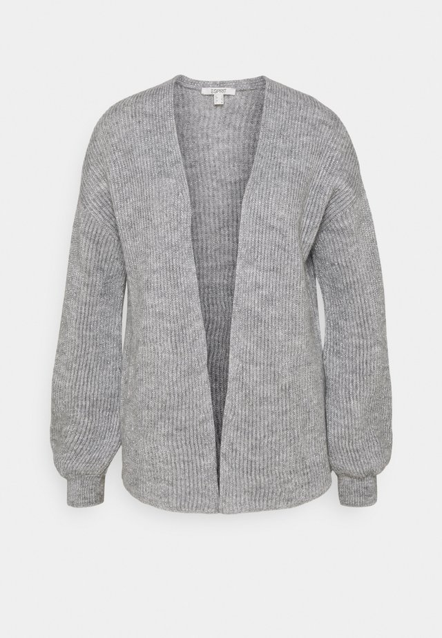 CARDIGAN - Kardigan - light grey