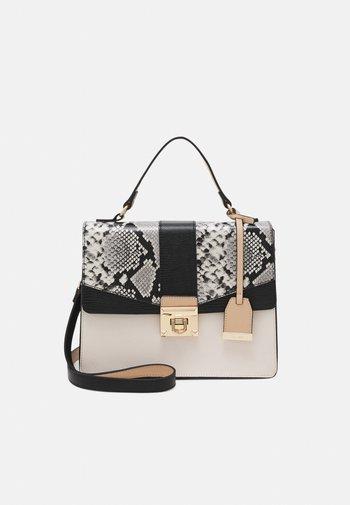 ELILIDIT - Handbag - bone/black